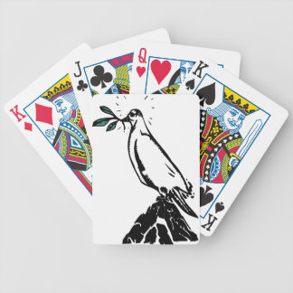 Peace Dove Bicycle Playing Cards