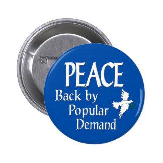 Peace Dove button