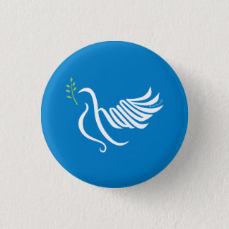 Peace Dove Button Shalom
