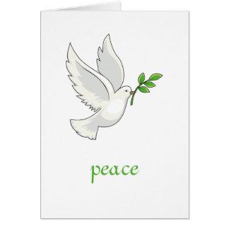 Peace Dove Card Card
