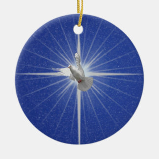 Peace Dove Christmas Tree Decoration