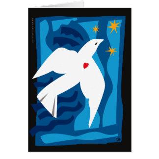 Peace Dove Holiday Card