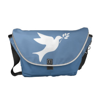 Peace Dove Messenger Bags