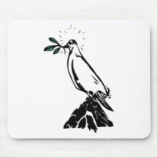Peace Dove Mouse Pad