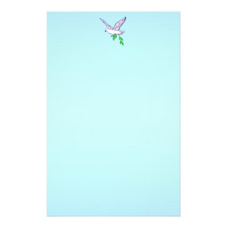 Peace Dove Stationery