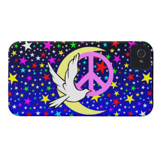 peace dove symbol Case-Mate iPhone 4 case