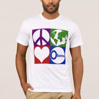 Peace, Earth, Love, Obama T-Shirt