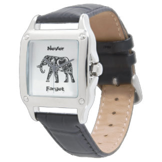 Peace Elephant Wrist Watches
