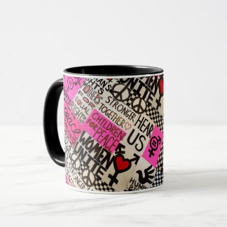 Peace & Equal Rights Mug