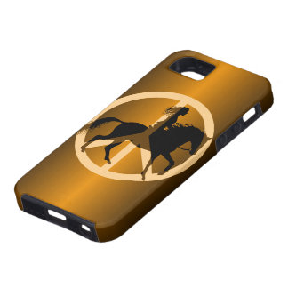peace equestrian case for the iPhone 5