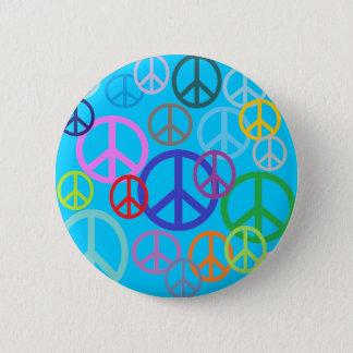 Peace Everywhere 6 Cm Round Badge