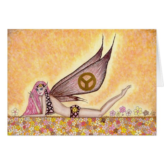 Peace Faery - Greeting Card