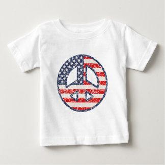 Peace-Flag-dist T-shirt