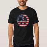 Peace-Flag-dist T Shirts