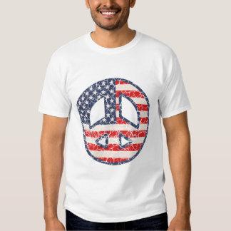 Peace-Flag -dist T-shirts