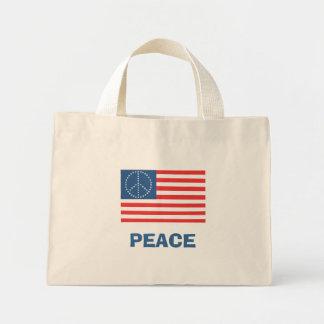 PEACE Flag Mini Tote Bag