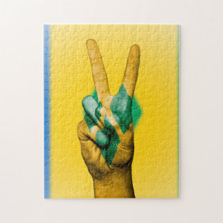 Peace Flag of the Grenadines. Jigsaw Puzzle