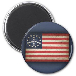Peace Flag -xdist 6 Cm Round Magnet