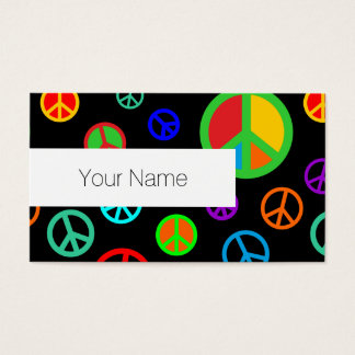 PEACE - Flat pattern multicolored + your backgr.