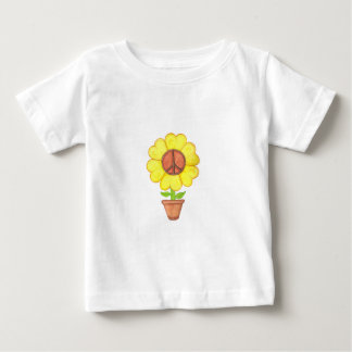 Peace Flower Baby T-Shirt