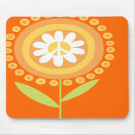 Peace flower Mouse pad