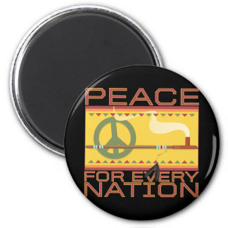 Peace for Every Nation Magnet