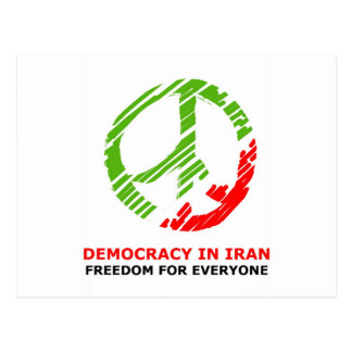 peace for Iran Postcard