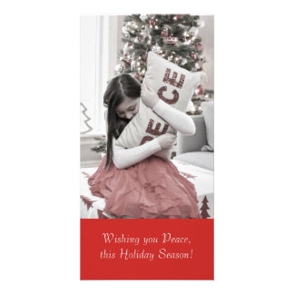 Peace for the Holidays Card