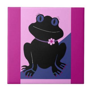 Peace Frog Tile