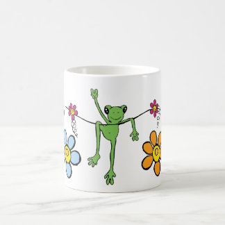 Peace Froggy Mug