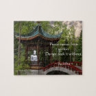 Peace From Within, Buddha Quote Jigsaw Puzzle