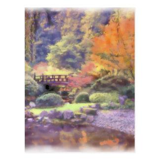 Peace Garden Postcard