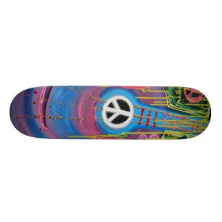Peace Guitar Skateboard