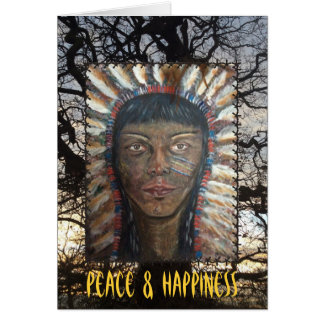 Peace & Happiness Card