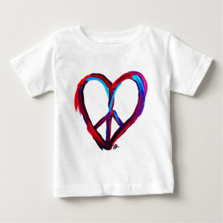 peace heart baby T-Shirt