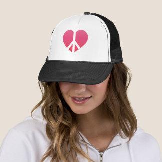 """""""Peace Heart"""" Trucker Hat"""