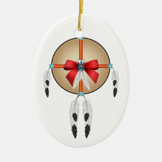 Peace Here on Earth, Ojibwe Ceramic Ornament