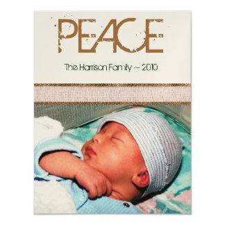Peace Holiday Photo Card