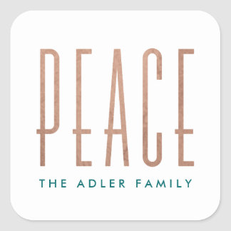 Peace Holiday Sticker