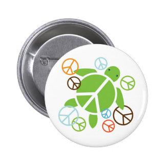 Peace Honu Button