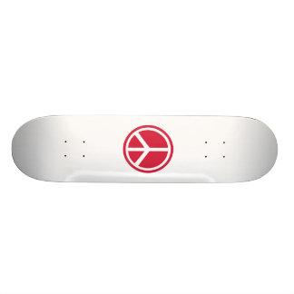 Peace icon skateboards