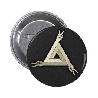 Peace Illusion 2 6 Cm Round Badge
