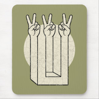 Peace Illusion Mouse Pad