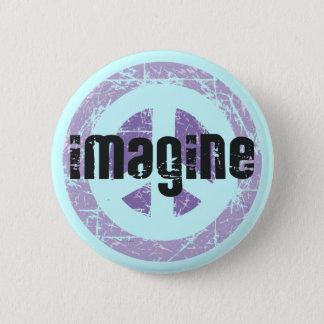Peace - Imagine Peace 6 Cm Round Badge