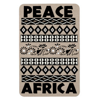 Peace In Africa Flexible Magnets
