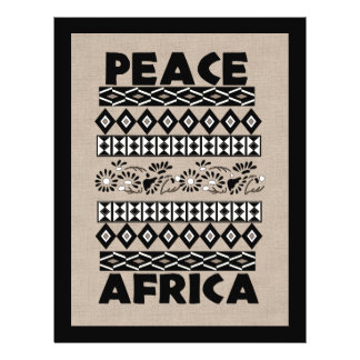 Peace In Africa Full Color Flyer