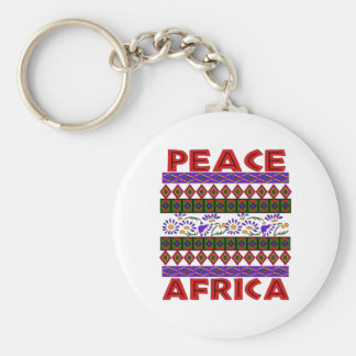 Peace In Africa Key Chains