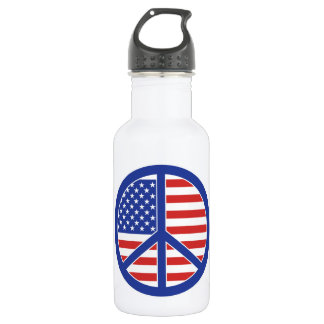 Peace in America 532 Ml Water Bottle