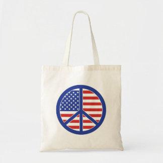 Peace in America Tote Bag