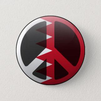 Peace in Bahrain 6 Cm Round Badge